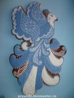 "Gingerbread ""Bluebird of happiness"""